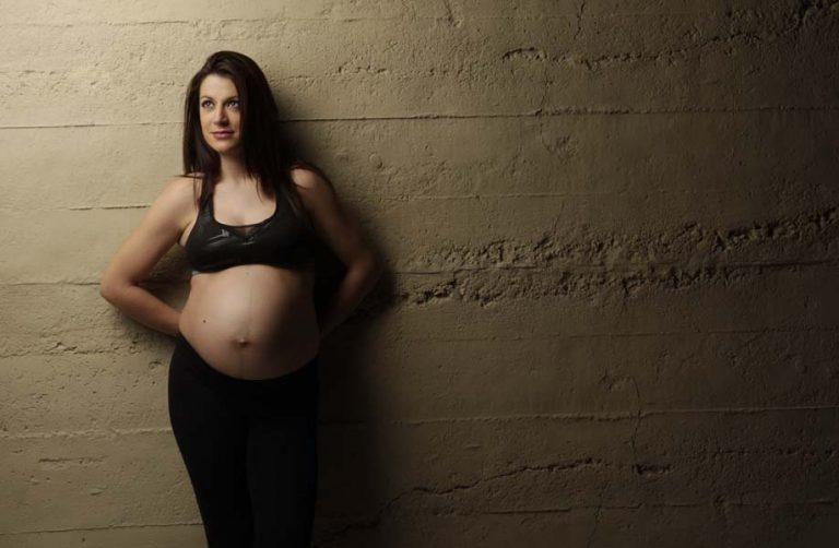 estudio embarazada