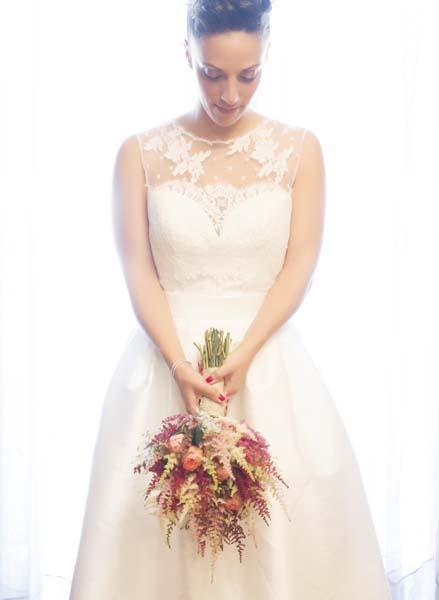 fotos en la casa de la novia